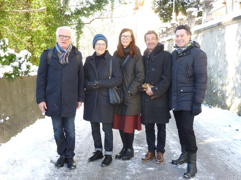 Christian Andexer, Heide Mühlfellner, Eva Hody, Andreas Schmid und Roman Höllbac..
