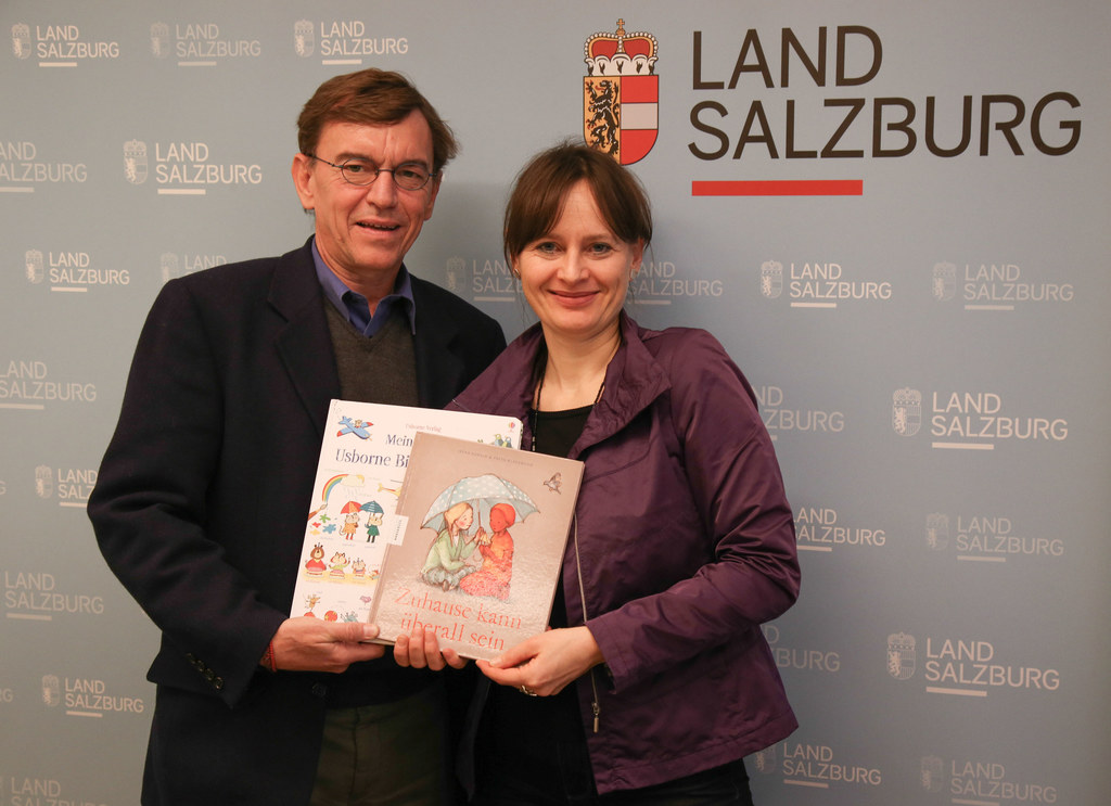 Landesrätin Martina Berthold und Wolfgang Schick