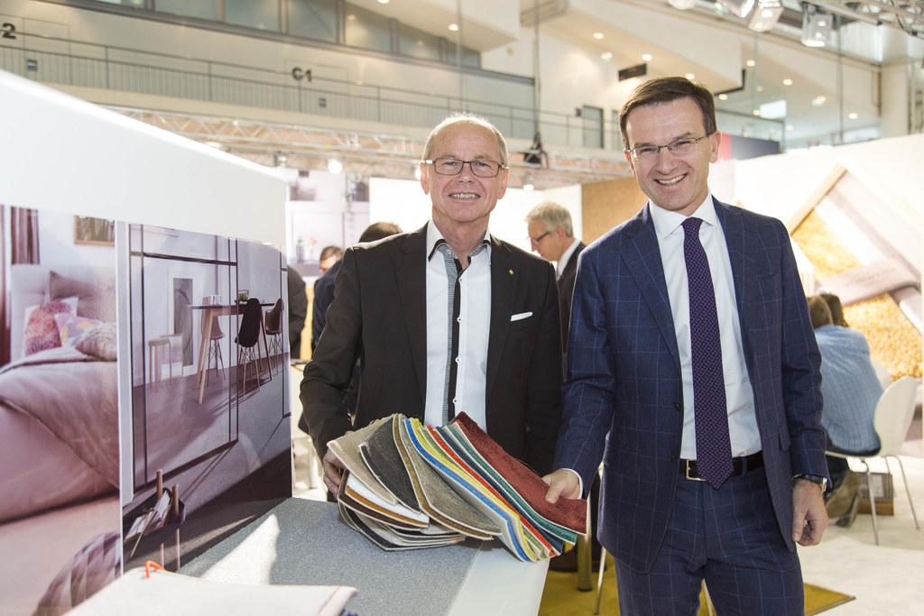 Landeshauptmann-Stellvertreter Christian Stöckl und Martin Roy