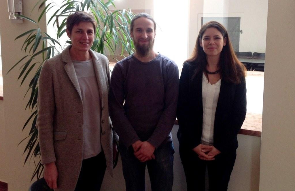 Im Bild von links: Landeshauptmann-Stellvertreterin Astrid Rössler, Andreas Scha..