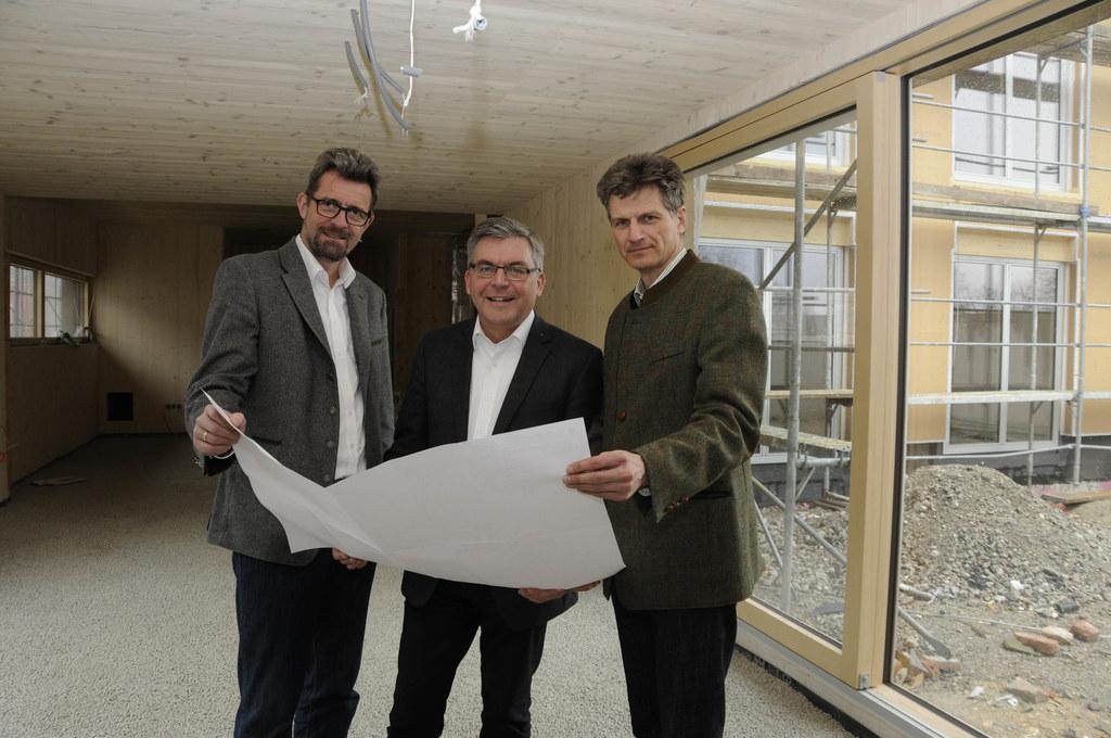 Von links: Christoph Faistauer (Landesschulinspektor Landwirtschaftliche Schulen..