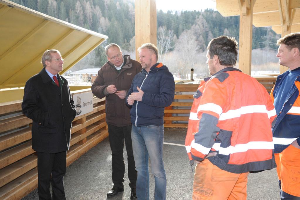 Besuch von Landeshauptmann Wilfried Haslauer beim Umweltzentrum St. Michael