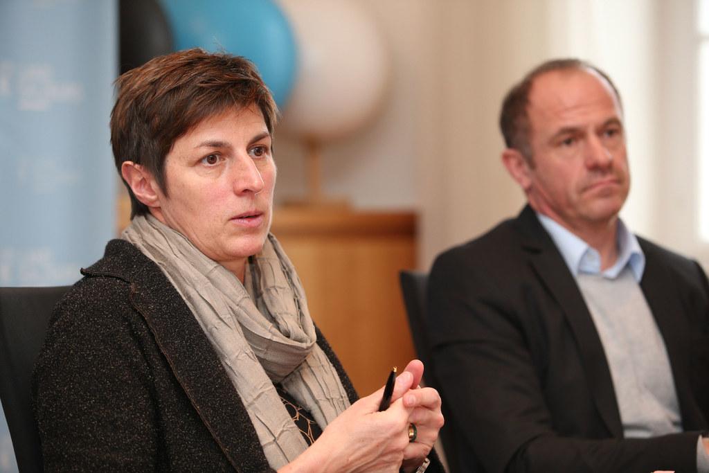 LH-Stv. Astrid Rössler und Walter Aigner