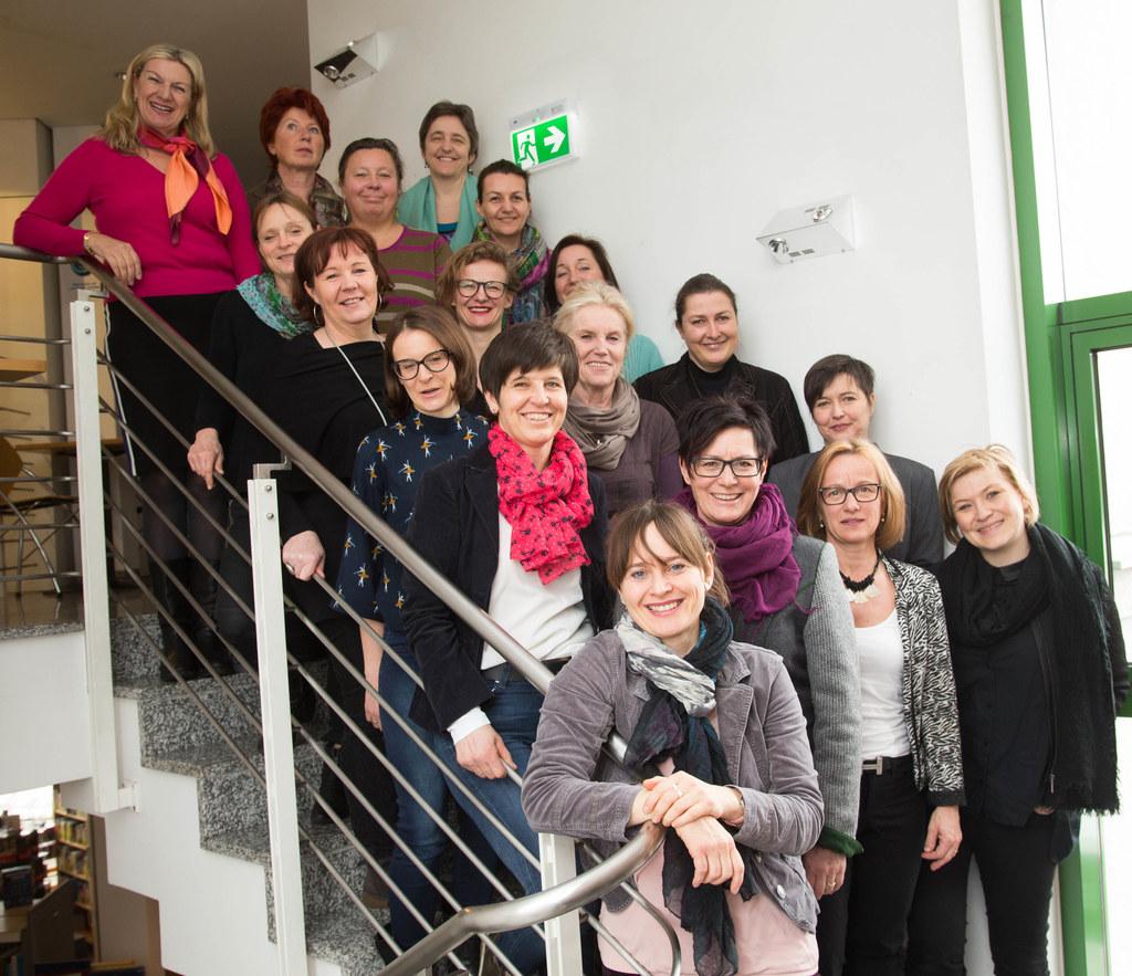 Frauentreffen im Bildungszentrum Saalfelden mit Landesrätin Martina Berthold