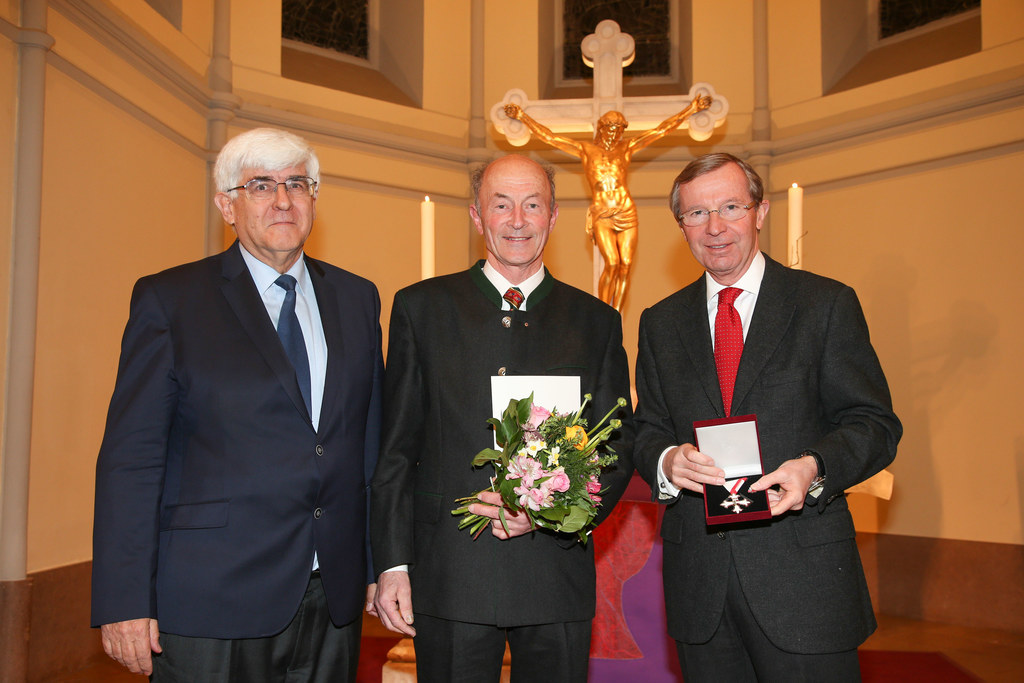 Eckart Fussenegger Superintendentialkurator, Peter Brückner aus Bischofshofen un..