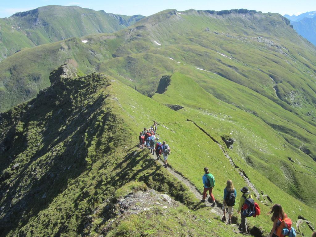 Kinder und Jugendliche sind vom Nationalpark Hohe Tauern begeistert. Fast 40.000..