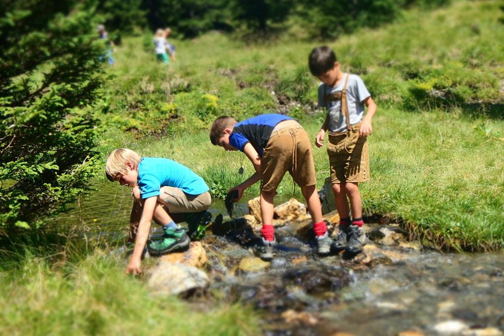 Sommerferien im Naturerlebniscamp im Nationalpark Hohe Tauern