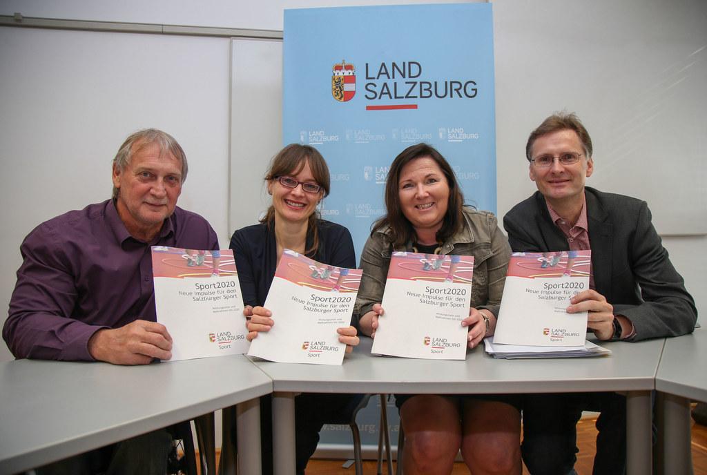 Walter Pfaller, LR Martina Berthold, Carmen Kiefer und Walter Dungl