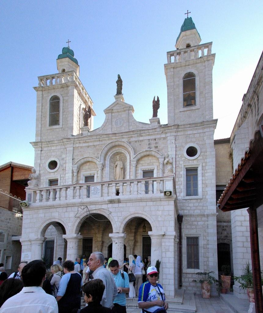 In Erinnerung an die biblische Hochzeit zu Kana wurde im Heiligen Land eine Kirc..