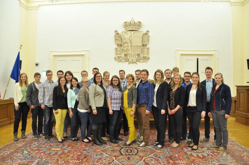 Landjugend Salzburg zu Gast im Salzburger Landtag