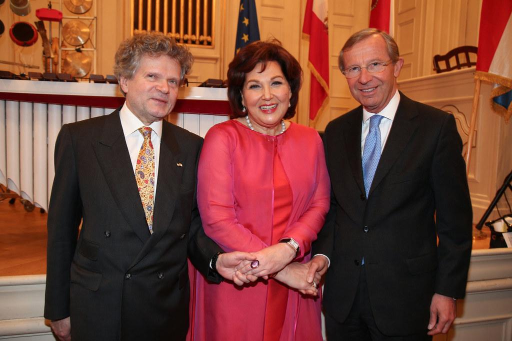 Hubert Würth Botschafter Luxemburg, Suzanne Harf Honorarkonsulin Luxemburg und L..