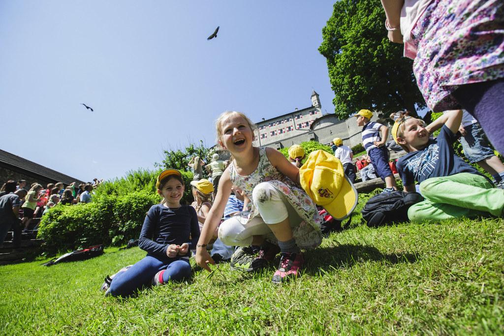 Erster Kindertag auf der Erlebnisburg Hohenwerfen