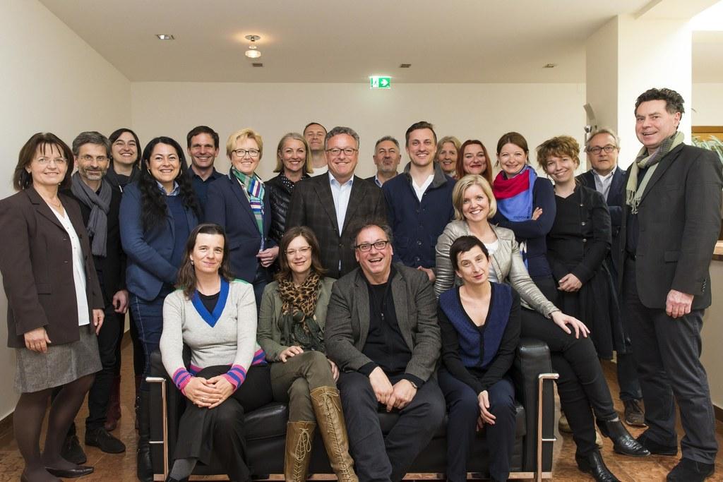 Die Mitglieder des neuen Landeskulturbeirates