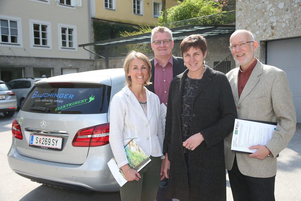 Sabine Wolfsgruber Umweltservice Salzburg, Günther Rauchfuß Fa. Bauchinger - Hau..