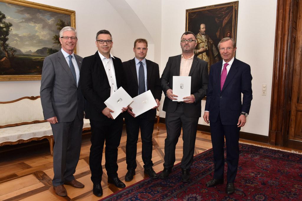 Harald Schlosser Sektionsvorsitzender, Ulrich Hans Karl Farthofer, Urs Heinrich ..