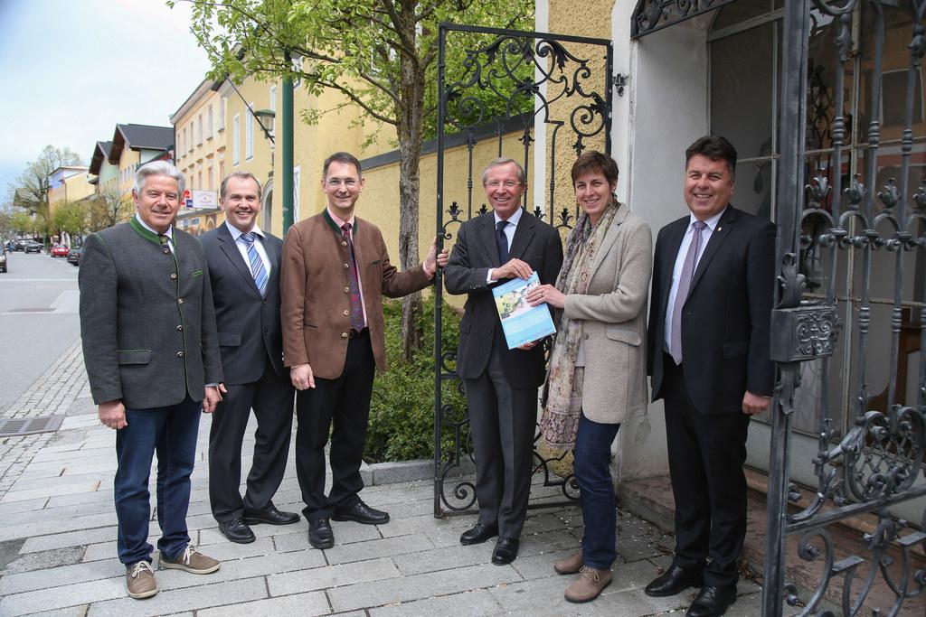 Bürgermeister Josef Tagwercher (Radtstadt), Bürgermeister Wolfgang Wagner (Köste..