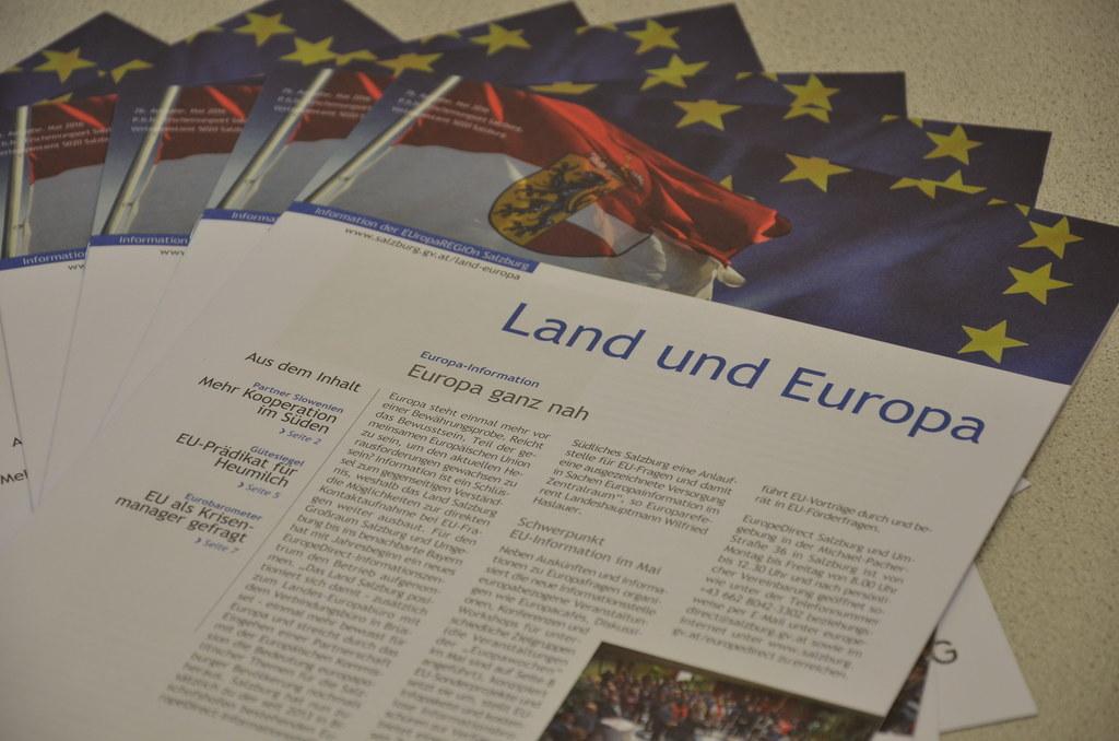 Neues Land und Europa erschienen