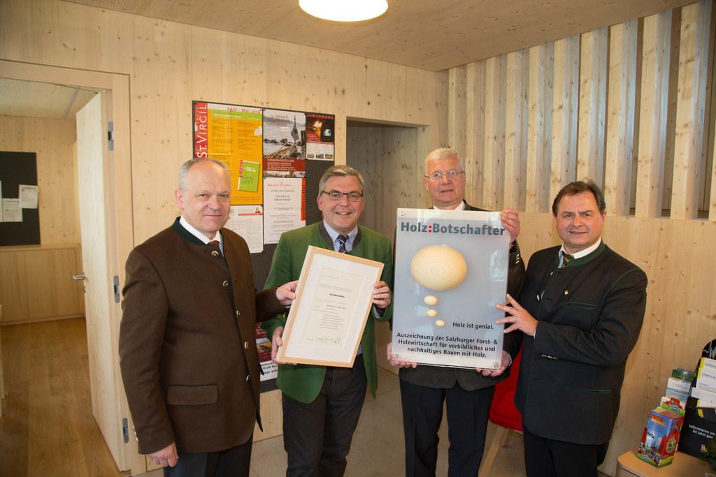 Bezirkshauptmann Mag. Reinhold Mayer, Landesrat Josef Schwaiger,  Bgm.Johann Gan..