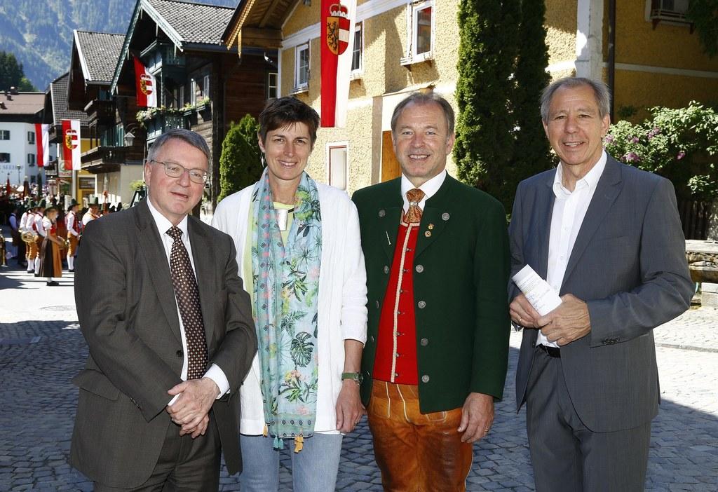 Eröffnung Goldegger Dialoge, Karl Forstner, Landeshauptmann-Stellvertreterin Ast..
