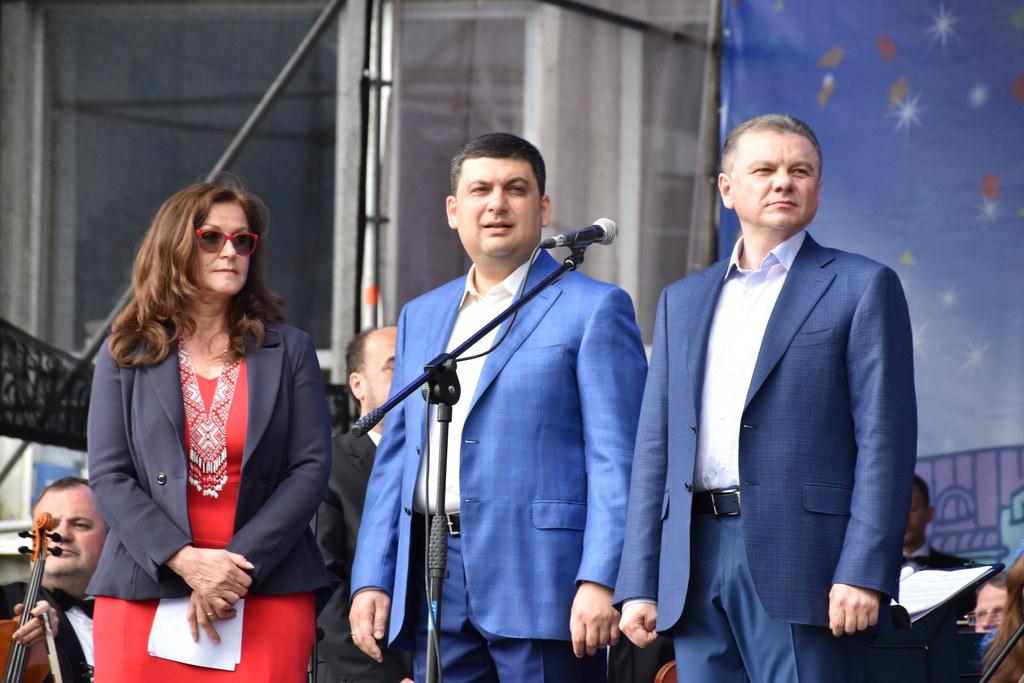 Europatag in der Ukraine, 2. Landtagspräsidentin Gudrun Mosler-Törnström, Bürger..