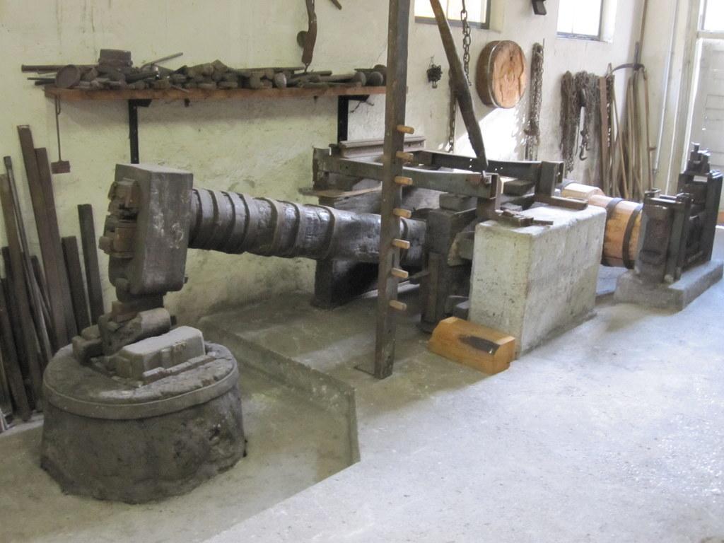 Die Hackenschmiede in Mauterndorf wird renoviert