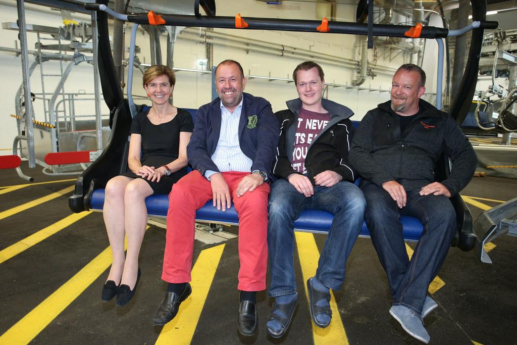 LTP Brigitta Pallauf, Direktor Johann Peter Rautenbacher, Christian Bodenstein, ..
