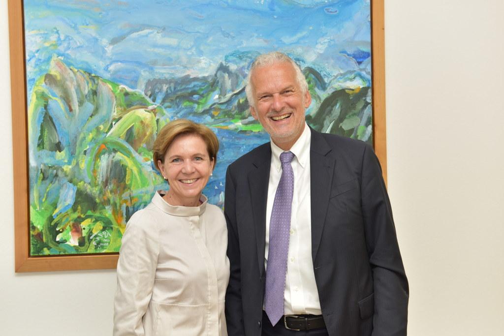 Landtagspräsidentin Brigitta Pallauf und RH-Präsident Josef Moser