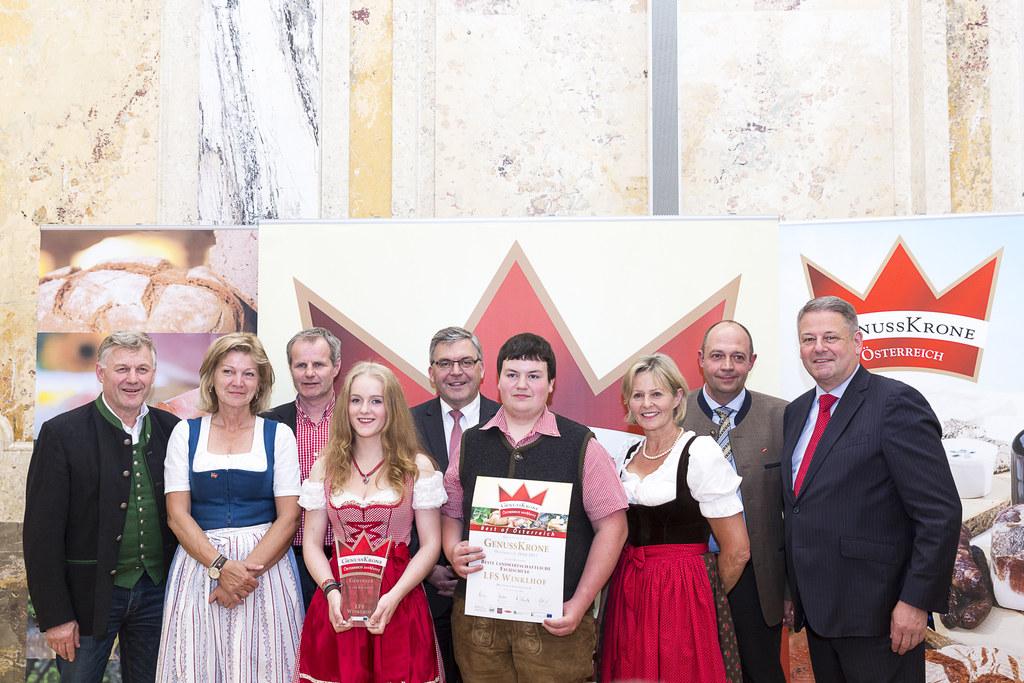 LFS Winklhof erhielt höchste Auszeichnung für regionale Spezialitäten
