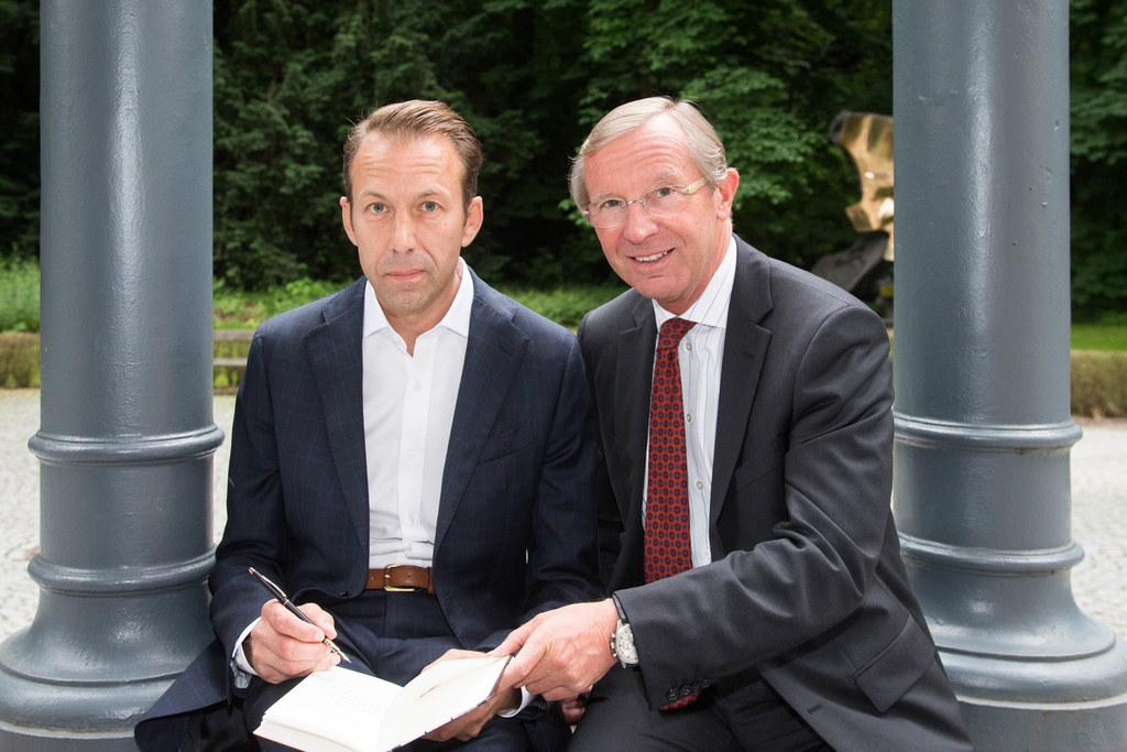 Peter Simon Altmann und Landeshauptmann Wilfried Haslauer
