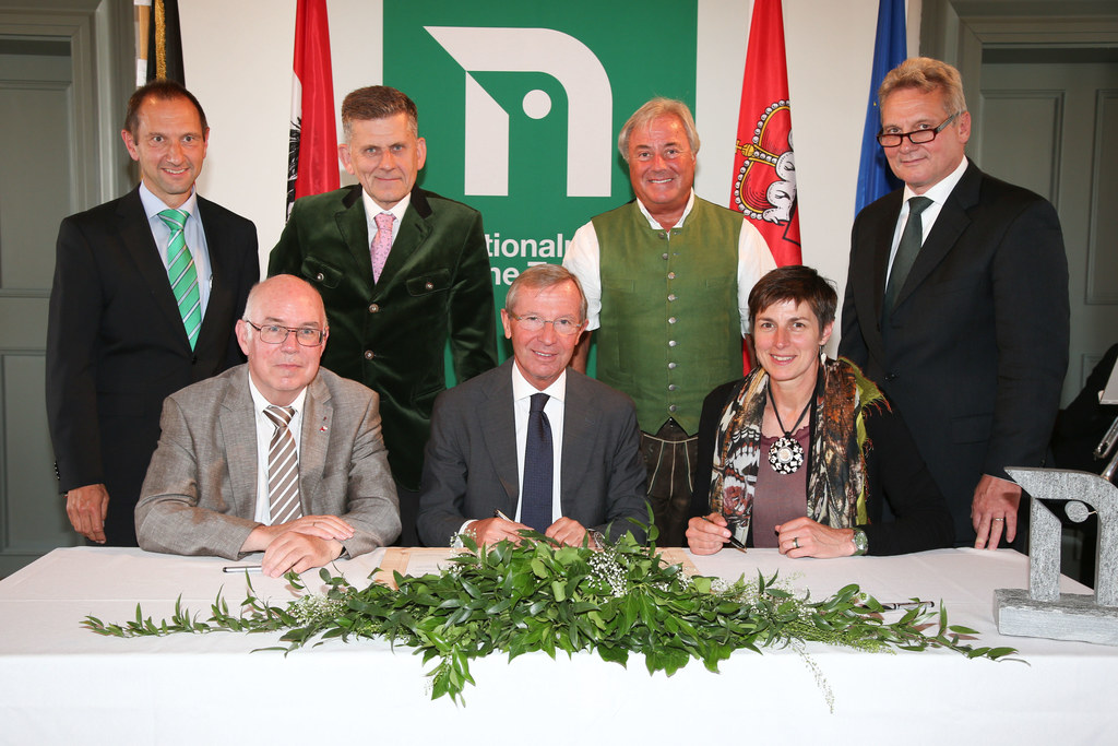 Wolfgang Urban Nationalpark Direktor, Wilfried Holtmann Vorsitzender VNP, Johann..