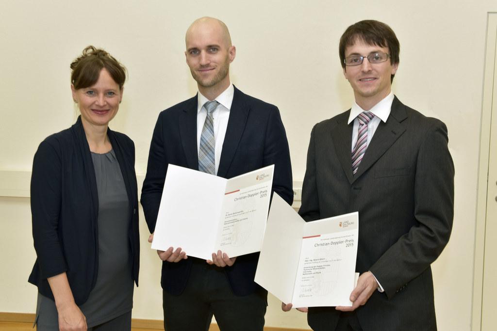 Landesrätin Martina Berthold, Daniel Rettenwander und Roland Bliem