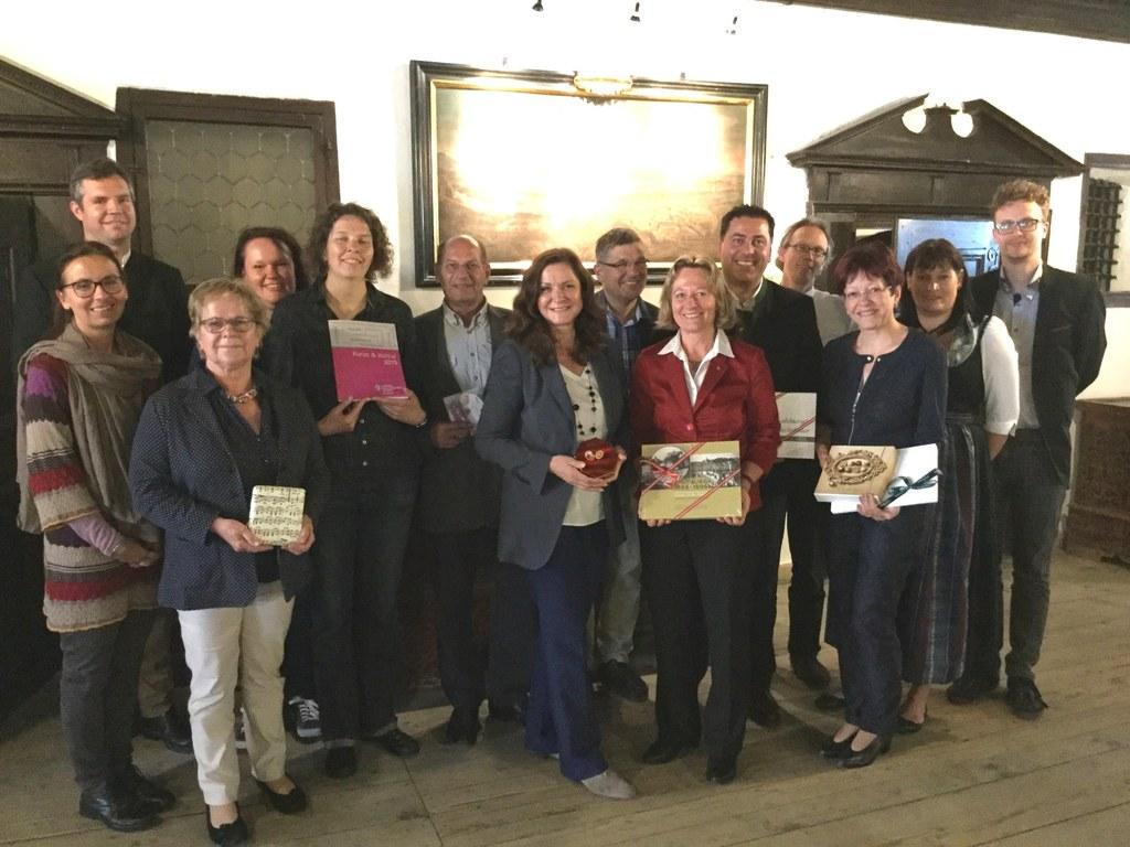 Die Salzburger Delegation zu Besuch in Mühldorf