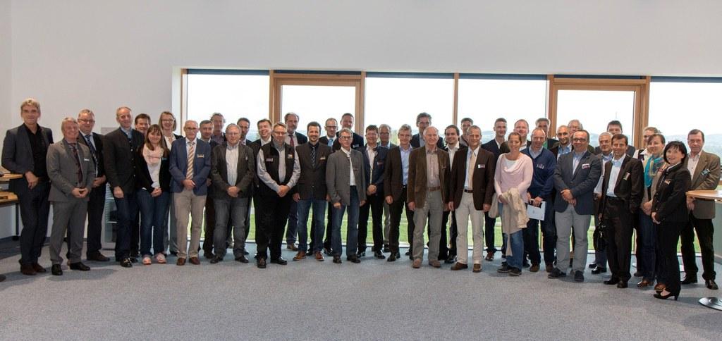 Großes Interesse beim EuRegio Dialog bei Otto Chemie in Fridolfing