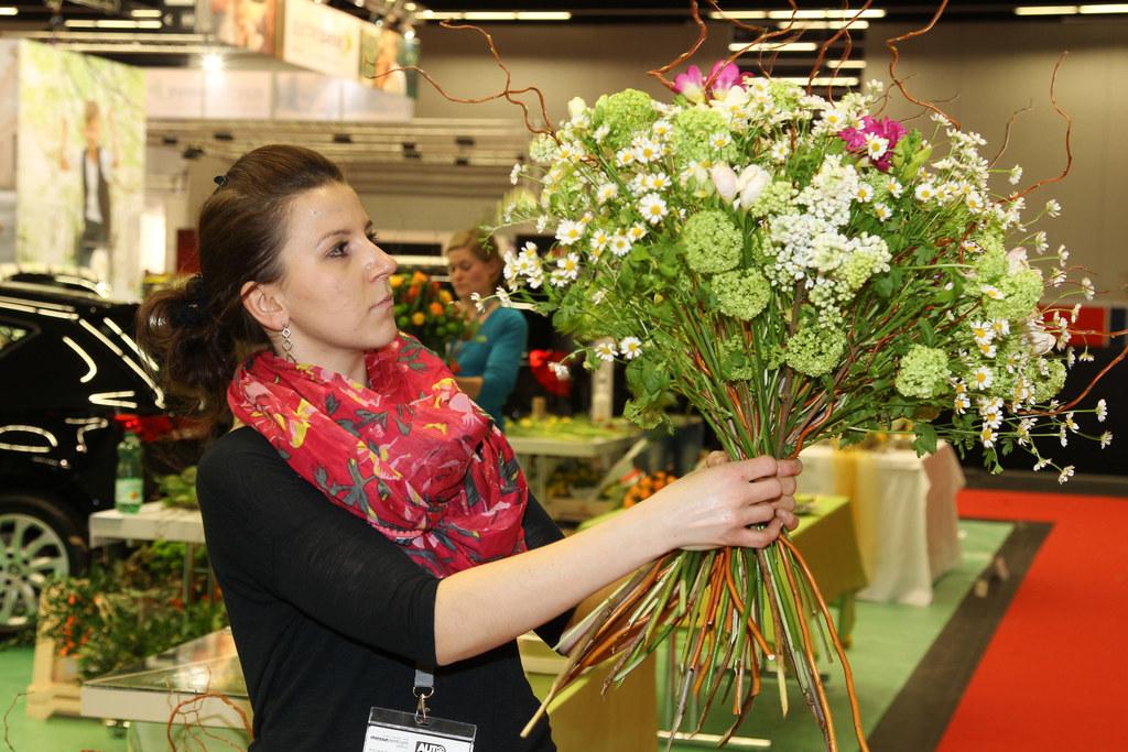 Landeslehrlingswettbewerb Floristen Salzburg auf der Automesse