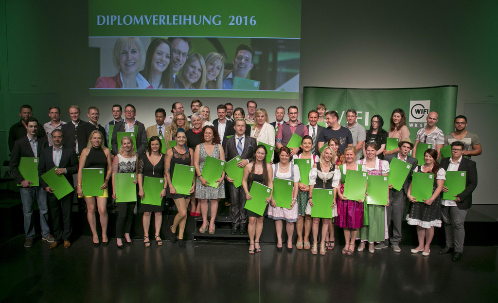 Diplomverleihung WIFI Salzburg