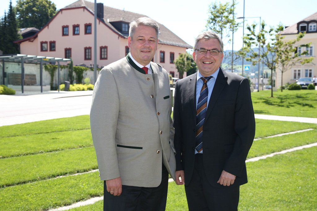 Landwirtschaftsreferentenkonferenz in Eugendorf, im Bild v. li: Andrä Rupprechte..