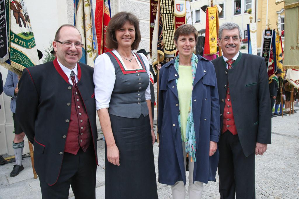 Historisches Marktfest in Laufen und Oberndorf als Teil von Salzburg 2016, Im Bi..