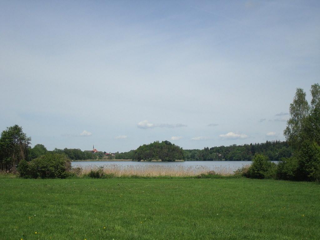 Der Abtsdorfer See ist heute ein beliebtes Ausflugsziel im ehemals salzburgische..