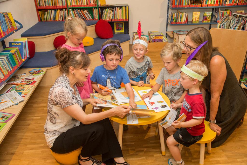 Die Salzburger Bibliotheken sind ein idealer Ort, um Kinder für Naturwissenschaf..