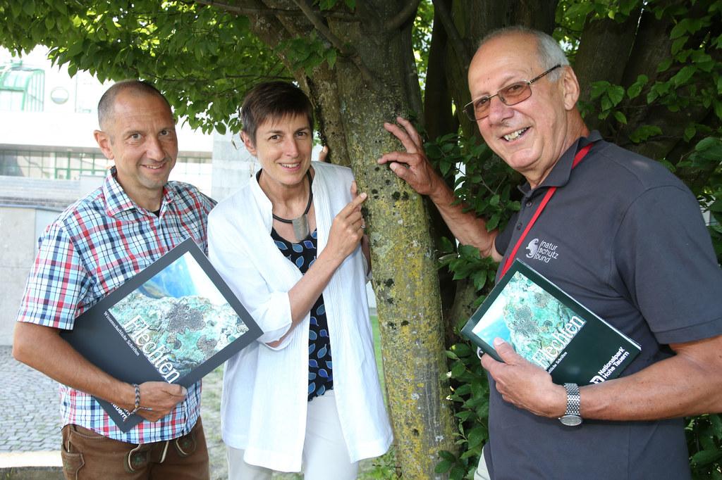 Nationalpark-Direktor Wolfgang Urban, LH-Stv. Astrid Rössler und Autor Roman Tür..