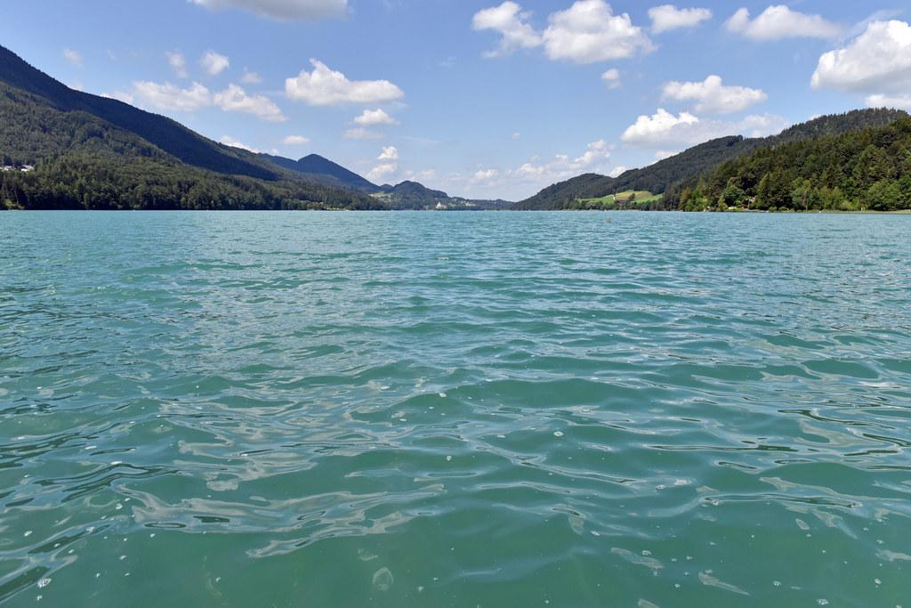 Der Fuschlsee weist, wie alle anderen großen Salzburger Seen, einen guten ökolog..