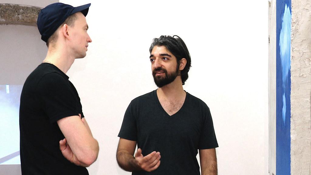 Künstler Adam de Neige und Nick Obterthaler