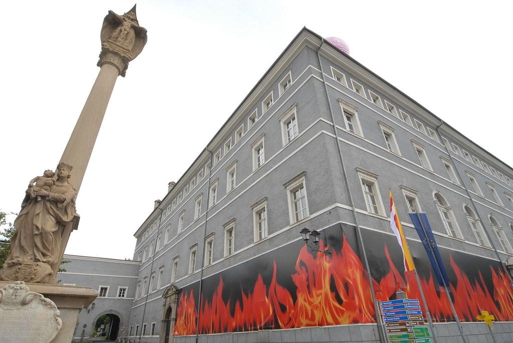 Einen Hauch von Salzburg verbreitet das Stadtschloss von Gmünd, das nach dem Vor..