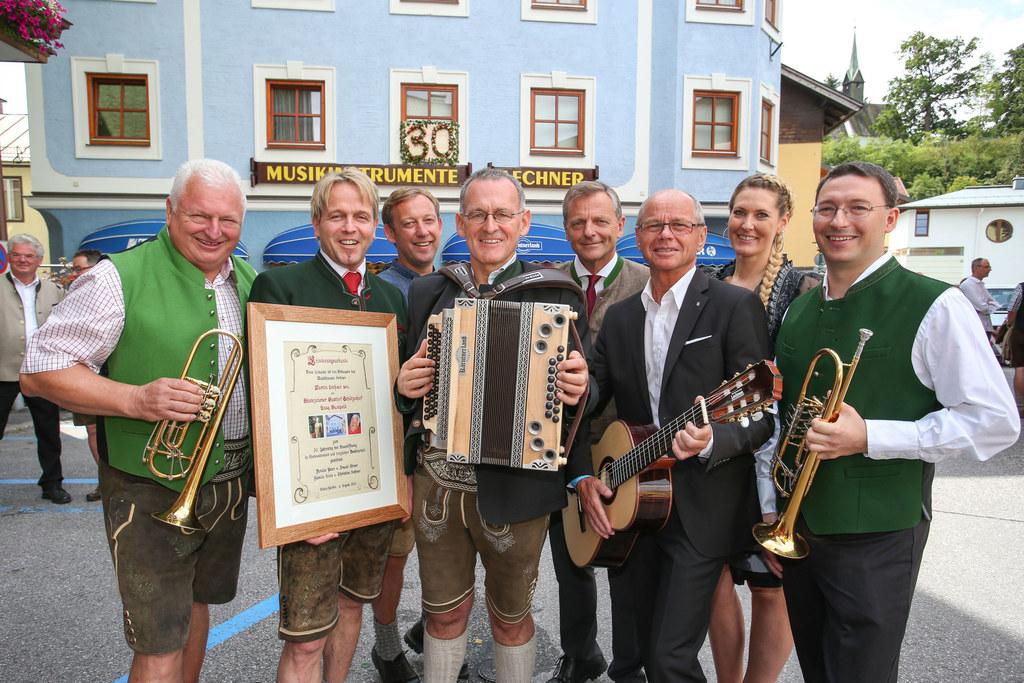 Neueröffnung Musikhaus Lechner in Bischofshofen