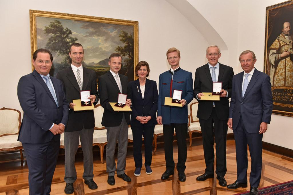 Andreas Großbauer, Csaba Bornemisza, Raphael Flieder, Helga Rabl-Stadler, Martin..