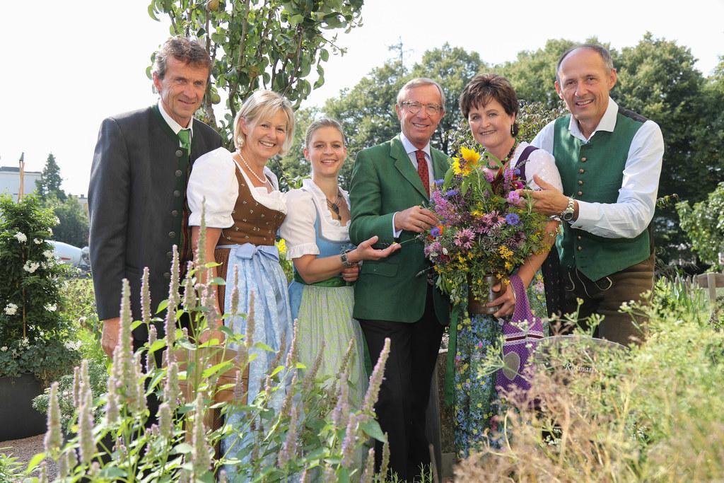 Gänther Brennsteiner, Elisabeth Hölzl, Eveline Bimminger, Wilfried Haslauer, And..