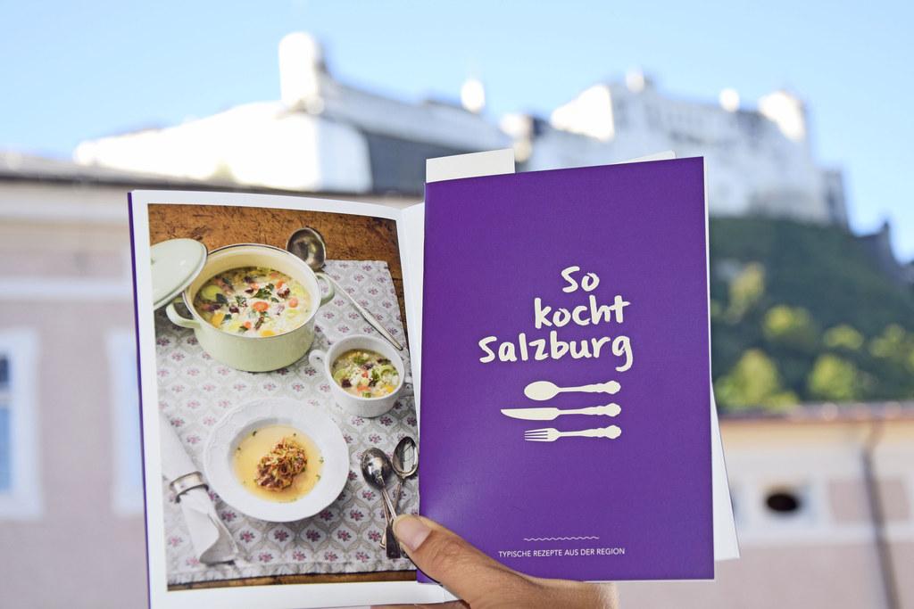 Typische Rezepte aus dem Land Salzburg finden sich in dem kleinen Büchlein