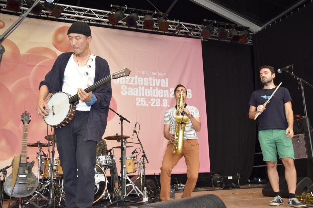 Dawanggang aus China beim Jazzfestival Saalfelden 2016