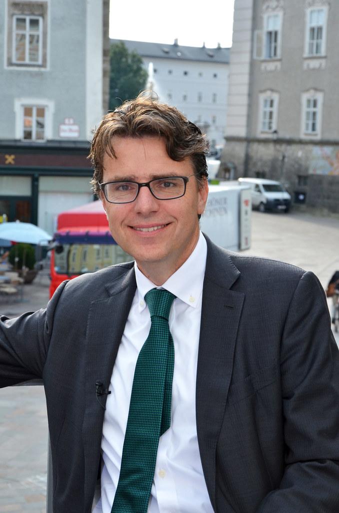 Thomas Schnöll, Leiter der Abteilung Presse und Information des Bundesministeriu..