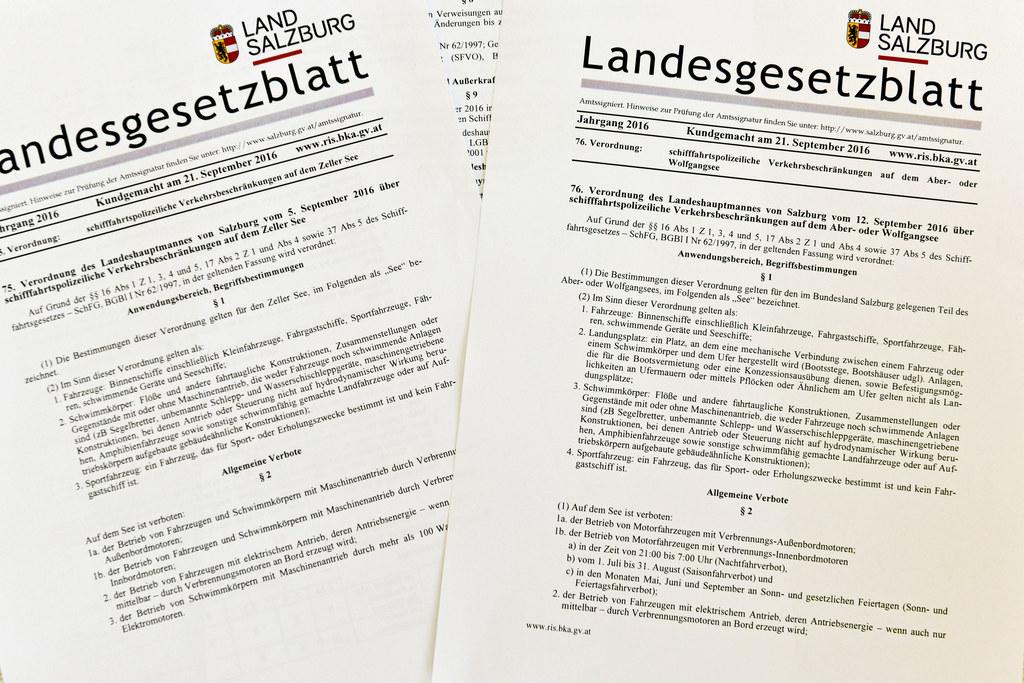 Landesgesetzblätter kundgemacht